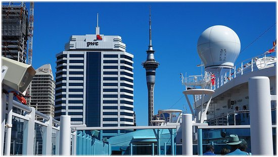 Auckland, New Zealand: From the Princess