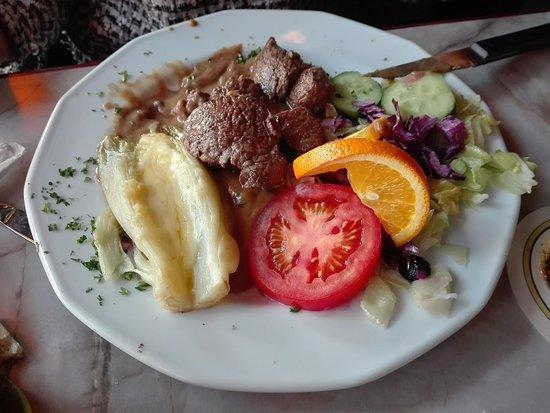 Small Talk Het Restaurant: Filetto al pepe verde