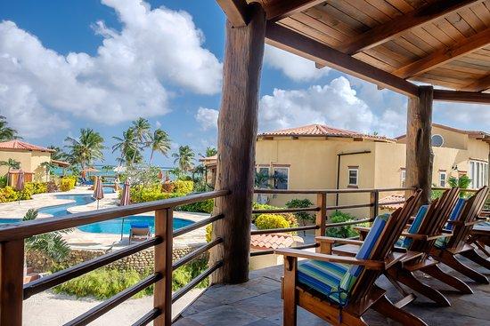 Seascape Villas 3 (Villa Serenity) Living Room Balcony View