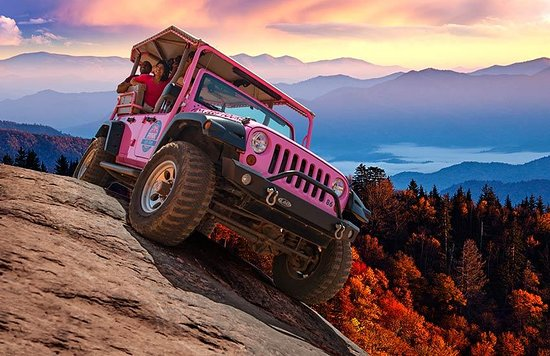 Smoky Mountains - Pink Jeep Tours