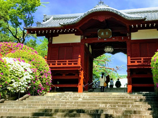 Gokokuji Temple: 不老門