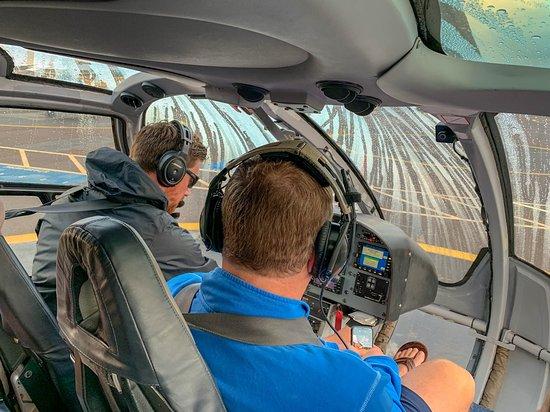 Blue Hawaiian Helicopter Tours - Maui: Inside the Helicopter