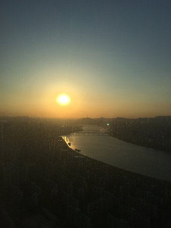 Signiel Seoul: Ausblick vom Zimmer