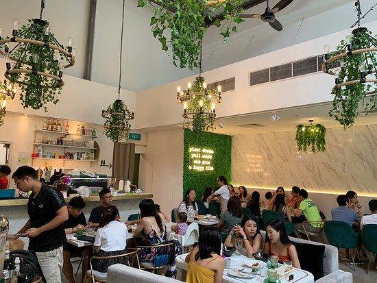 Decent cafe but service could improve