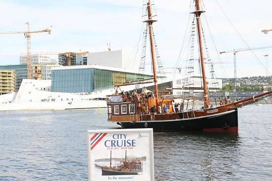 Mini-croisière touristique à Oslo...