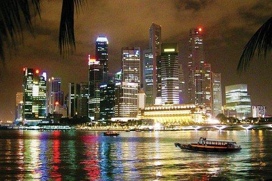 Singapore di notte: Spettacolo di