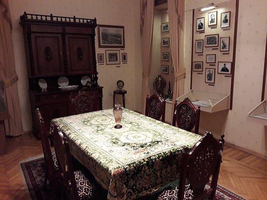 Memorial Museum of Nariman Narimanov: Dining room with exhibits