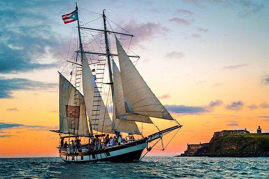 Navegación durante el ocaso por el...