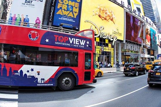 随上随下纽约巴士之旅,自由女神像,纽约市博物馆及更多