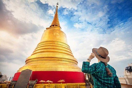 バンコク空港レイオーバースペシャル:タイのタッチ8時間のトランジットツアー