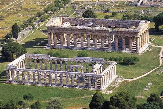 Ruinas griegas de paestum