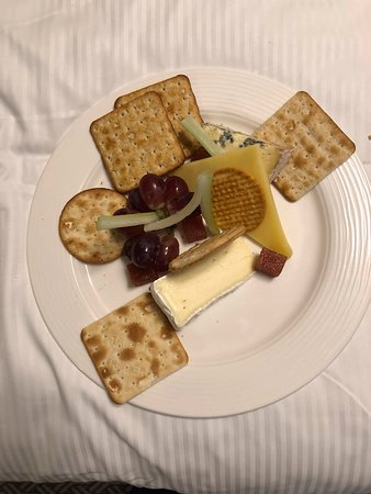 See main review - room service cheese plate for £17