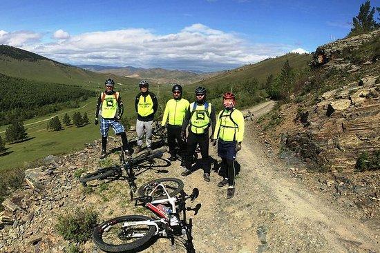 en dag sykkeltur rundt Ulaanbaatar