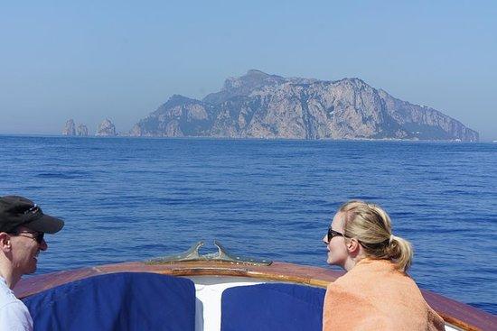 Croisière sur l'île de Capri...