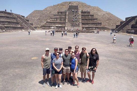 Privat fra Mexico City: Pyramider av...
