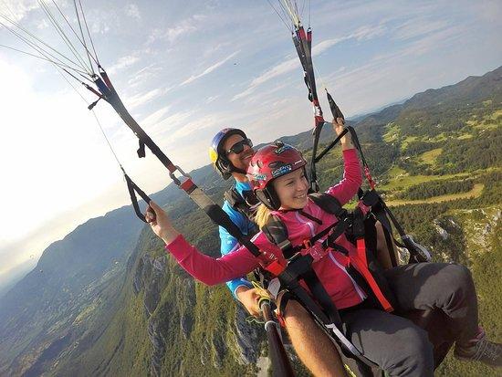 Adria tandem paragliding
