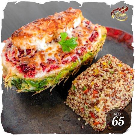 Salmon Pineapple Quinoa