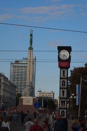 Riga Region, ลัตเวีย: 通り写真