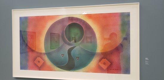 Watercolor exhibit