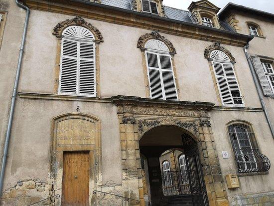 Gorze, فرنسا: Palais abbatial édifié en 1696.