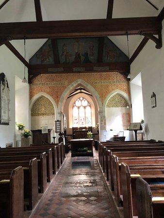 North Waltham, UK: inside the church