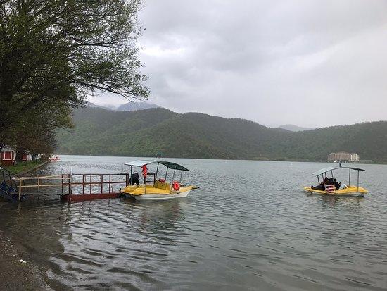 Qabala, أذربيجان: Nokhur Gel Lake