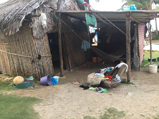 Isla Naranja Chico, Panama: Cabanas Naranjo Chico