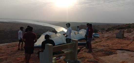 Gandikota adventure club camping and food tracking kayaking available my name chalapathi my contact number 7989498609