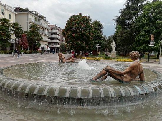 Fontana di Arlecchino di Abano Terme