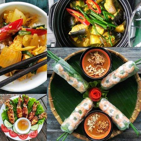 Vietnamese food in Vietnam