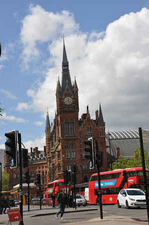 Camino King's Cross: Estación de St. Pancras Londres