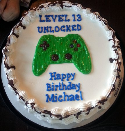 Prime A Gaming Controller Theme Cake For A 13 Year Old Picture Of Funny Birthday Cards Online Inifodamsfinfo