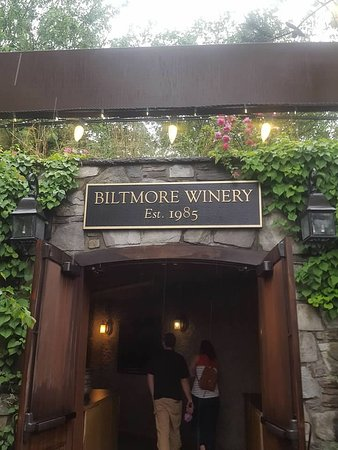 Old dairy tunnel, now winery entrance