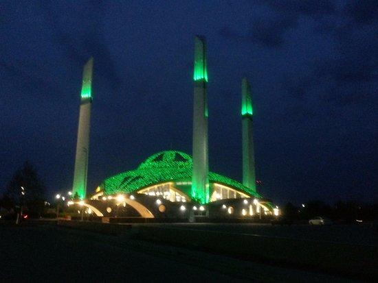 Argun, Rusko: мечеть в двух шагах от отеля