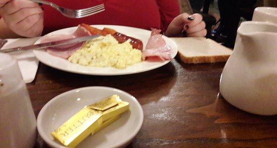 Royal Station Hotel: Example of english breakfast at the Royal Station