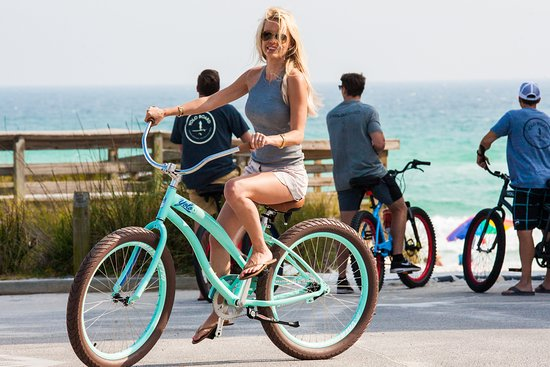 Trailblaze Adventure: Cruise down the Beach today with one of our top of the line Beach Bicycle Rentals.