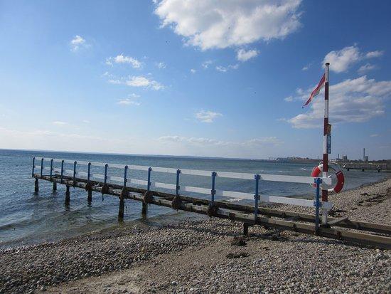 Råå Vallar badplats: la plage