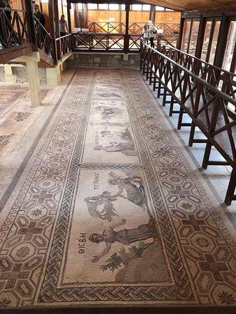 Mosaik im Haus des Dyonisos