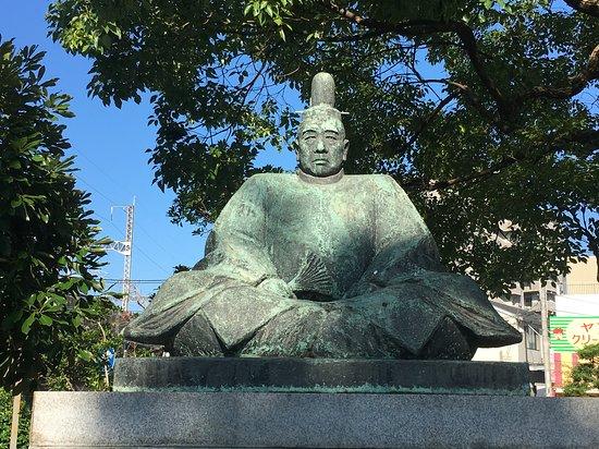 Statue of Takakage Kobayakawa