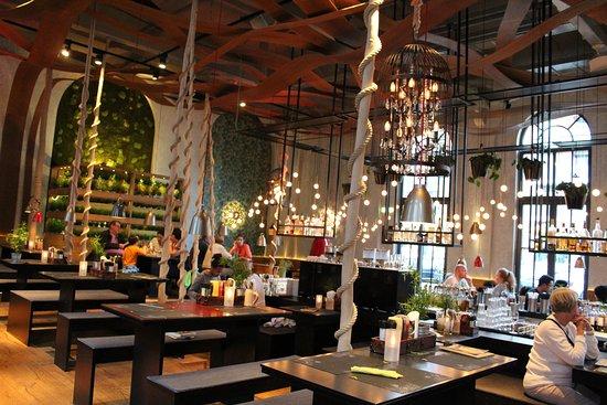 déco du restaurant - Bild von Peter Pane - Burgergrill & Bar ...