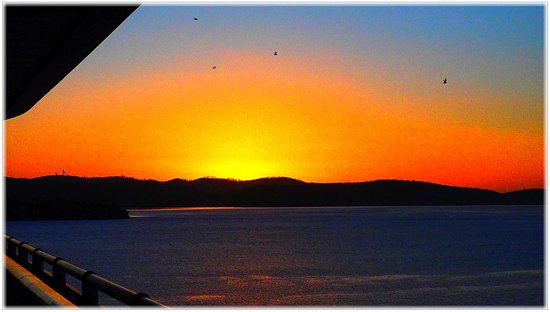 Hobart, Australien: Rise from the Majestic.