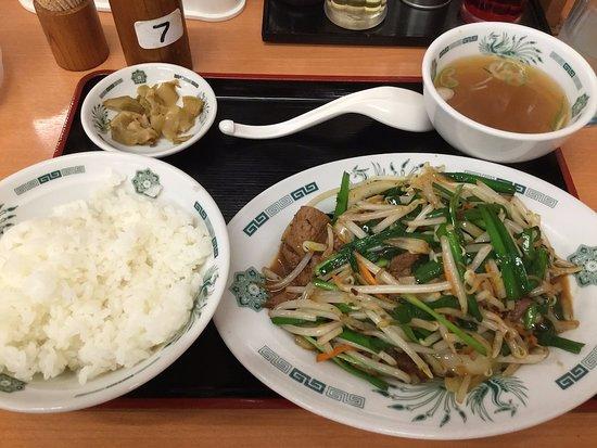 Hidakaya Omori East Entrance: いわしフライ、餃子セット670円は 、お得でした。