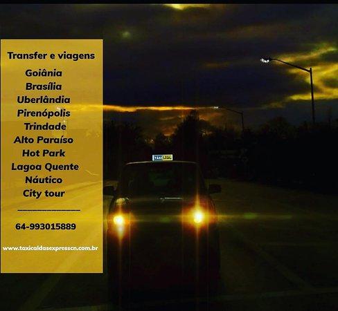 Transfer Táxi Caldas Express
