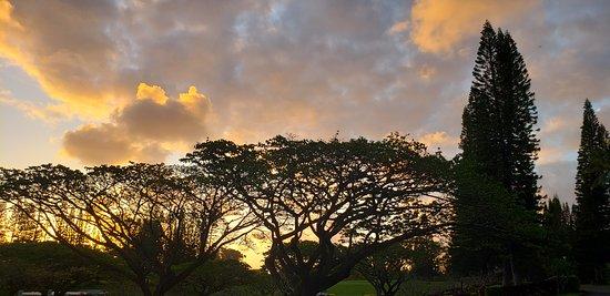 Princeville Makai Golf Club: Sunrise at Princeville Maki Course.