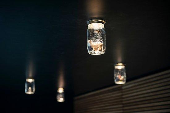 Le Point Commun: Lampe bocaux DIY