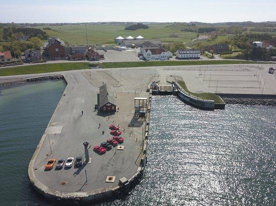 Kolby, الدنمارك: Den tidligere færgehavn i Kolby Kås