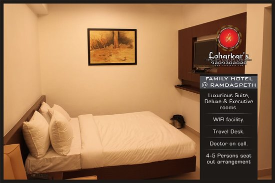 Nagpur District, อินเดีย: Deluxe Room