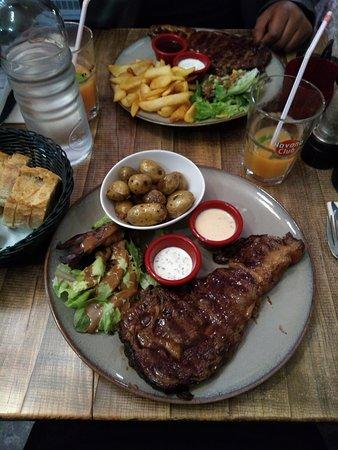 Au Steak House: Entrecôtes 250gr
