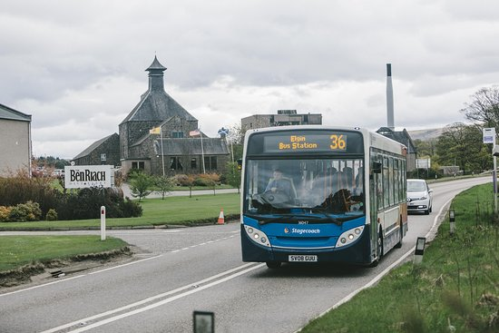 Explore The Whisky Trail with Stagecoach Bus