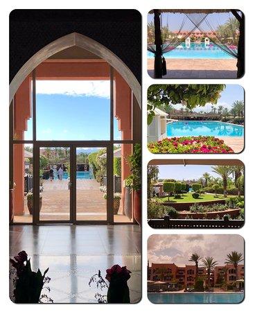 Hotel pool, gardens